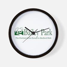 Bailey Park Wall Clock