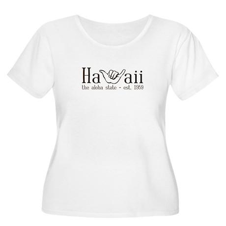 Hawaii - The Aloha State Women's Plus Size Scoop N