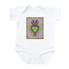 Mardi Gras Milagro Infant Bodysuit