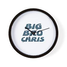 Big Bro Chris Wall Clock