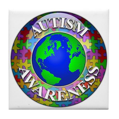 Autism Worldwide Tile Coaster