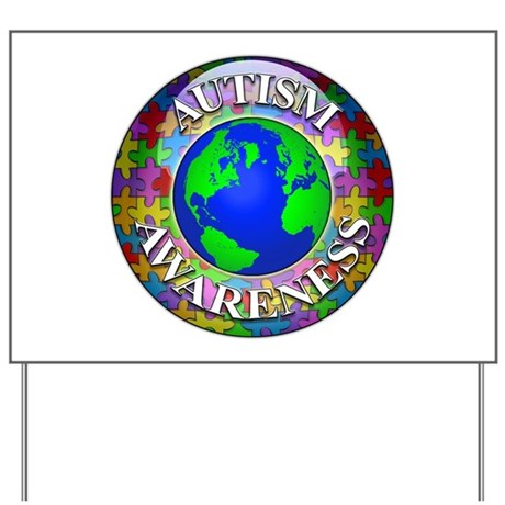 Autism Worldwide Yard Sign
