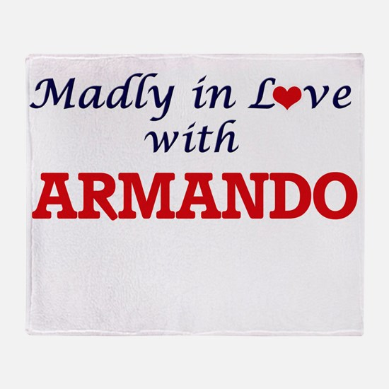Madly in love with Armando Throw Blanket