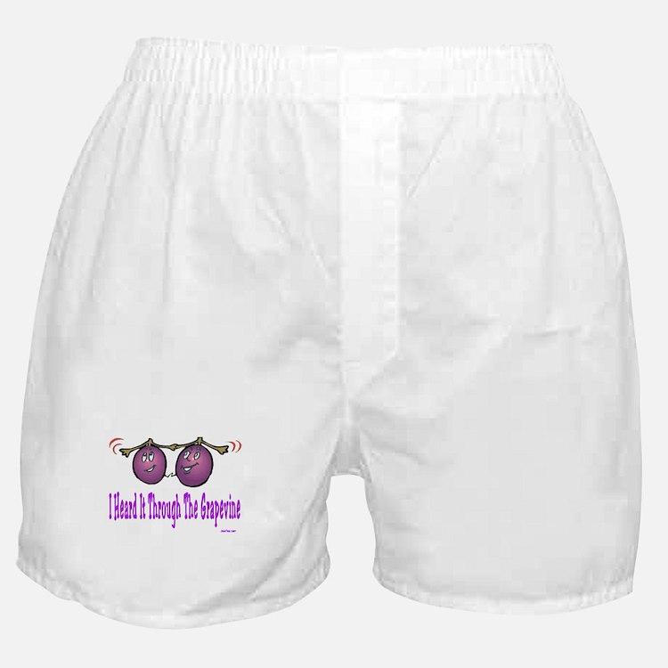 Heard It Through The Grapevin Boxer Shorts