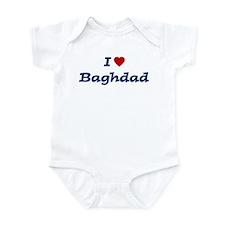 I HEART BAGHDAD Infant Bodysuit