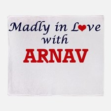 Madly in love with Arnav Throw Blanket