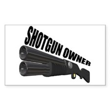 Shotgun Owner Rectangle Decal