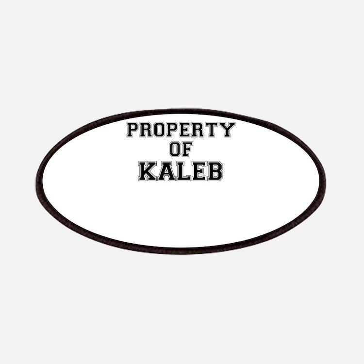 Property of KALEB Patch