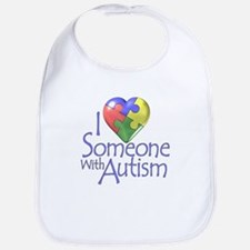 Someone with Autism Bib