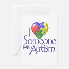 Someone with Autism Greeting Card