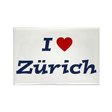 I HEART ZURICH Rectangle Magnet