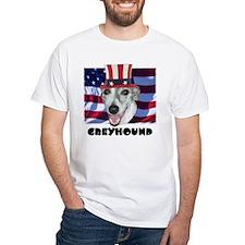 Greyhound RED WOOF & BLUE Shirt