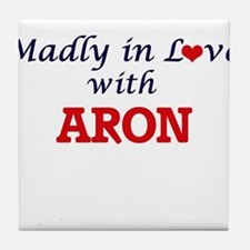 Madly in love with Aron Tile Coaster