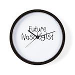 Future Nasologist Wall Clock