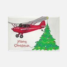 Cute Airplane Rectangle Magnet