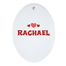 Rachael Oval Ornament