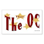 Love The OC? Rectangle Sticker