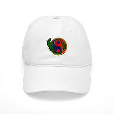 Yin Yang Geckos Baseball Cap