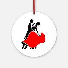 Shall We Dance Ornament (Round)