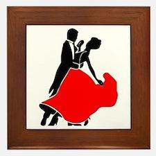 Shall We Dance Framed Tile