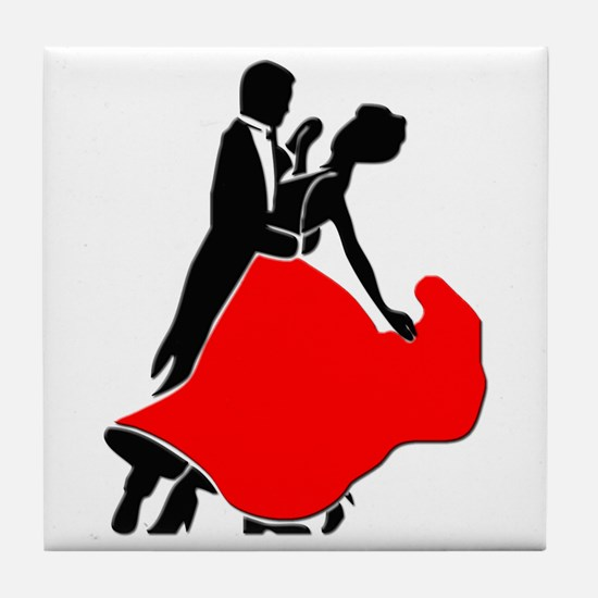 Shall We Dance Tile Coaster