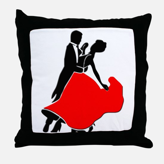 Shall We Dance Throw Pillow