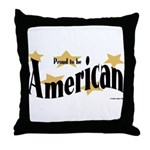 Proud American Throw Pillow