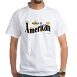 Proud American White T-Shirt