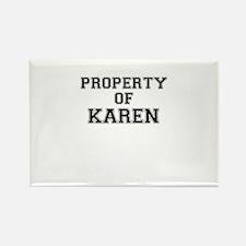 Property of KAREN Magnets