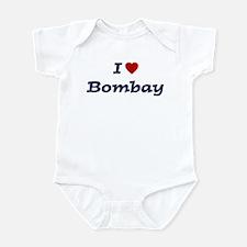 I HEART BOMBAY Infant Bodysuit
