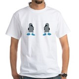 Blue footed booby Mens White T-shirts