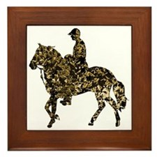 Paso Fino Gold Framed Tile