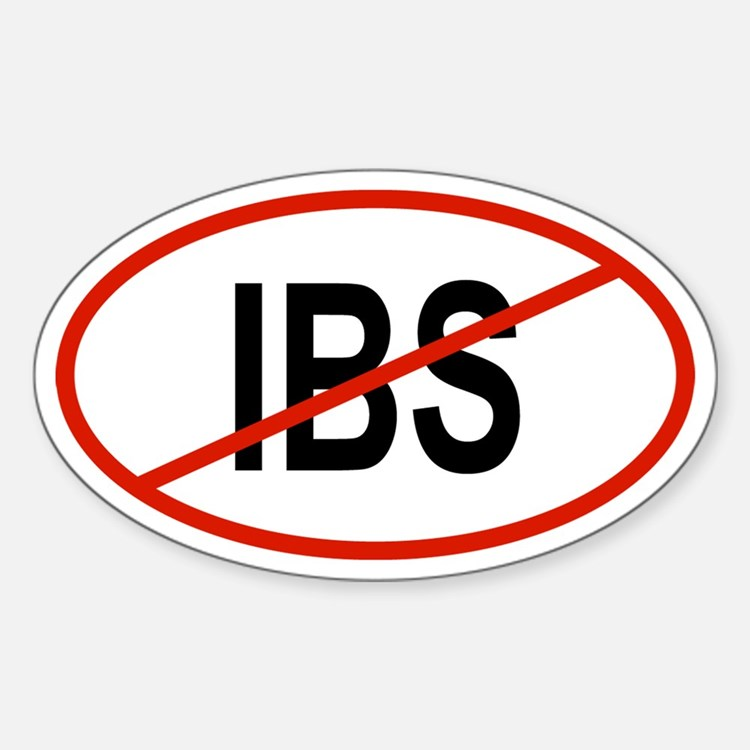IBS Oval Decal