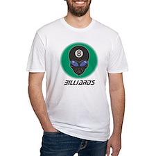 Billiards Eight Ball Alien Shirt