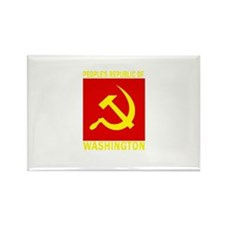 People's Republic of Vermont Rectangle Magnet