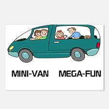 Mini-van Mega-fun Postcards (Package of 8)