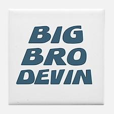 Big Bro Devin Tile Coaster