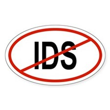 IDS Oval Decal