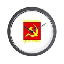 People's Republic of New York Wall Clock