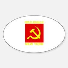 People's Republic of New York Oval Decal