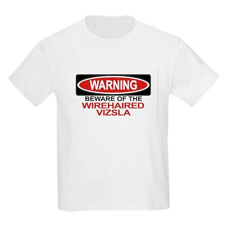 WIREHAIRED VIZSLA Kids Light T-Shirt