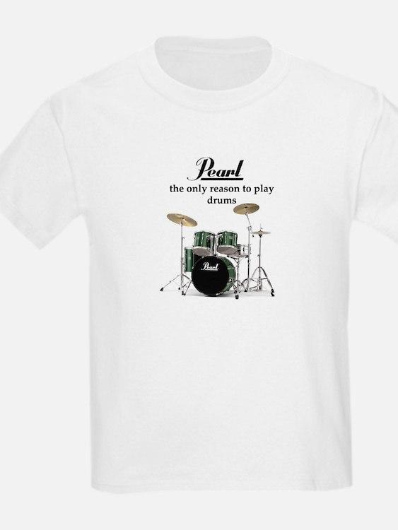 pearl drums kid 39 s clothing pearl drums kid 39 s shirts hoodies. Black Bedroom Furniture Sets. Home Design Ideas