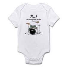 Pearl Drummer Infant Bodysuit