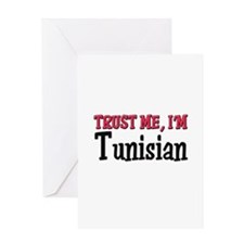 Trust Me I'm a Tunisian Greeting Card
