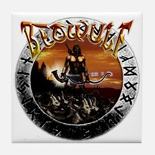 Beowulf gifts and t-shirts Tile Coaster