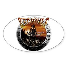 Beowulf gifts and t-shirts Oval Decal
