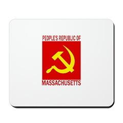 People's Republic of Massachu Mousepad
