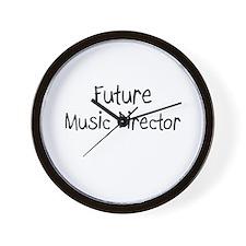 Future Music Director Wall Clock