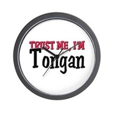 Trust Me I'm a Tongan Wall Clock