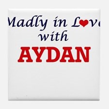Madly in love with Aydan Tile Coaster